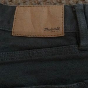 Madewell Jeans - MADEWELL JEANS - Olive green - Size 28